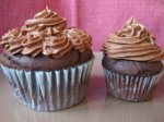 Regular and Mini Chocolate Cupcakes