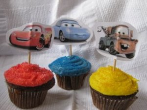 Cars - Lightning McQueen, Sally and TowMater