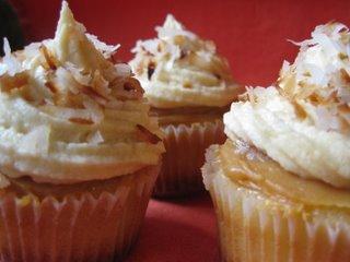 Dulce de Leche mini cupcakes
