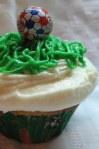 Soccer Cupcake